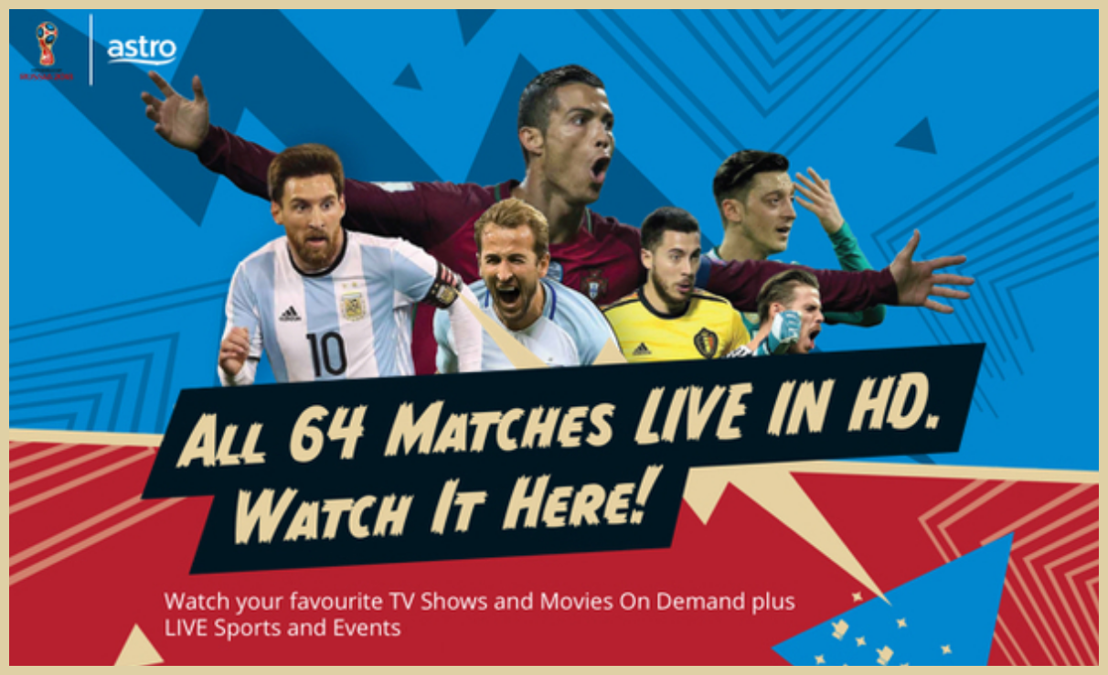 All 64 Matches LIVE in HD